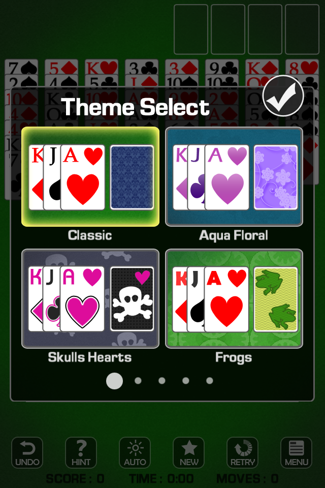 Screenshot FreeCell * Free