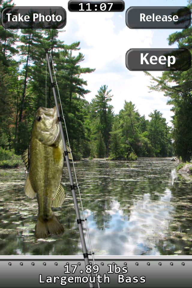 Screenshot i Fishing World Championship Lite