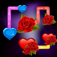 Best valentine flow: challenging addictive puzzle game. Think and connect your lovely heart